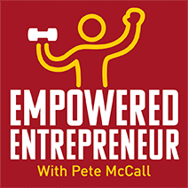 Pete McCall's Empowered Entrepreneur Podcast logo